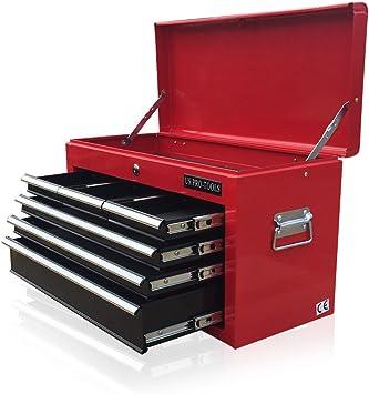 Caja de herramientas portátil US PRO TOOLS con 6 cajones ...