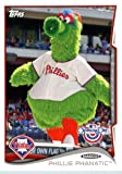 2014 Topps Opening Day Mascots Baseball Card