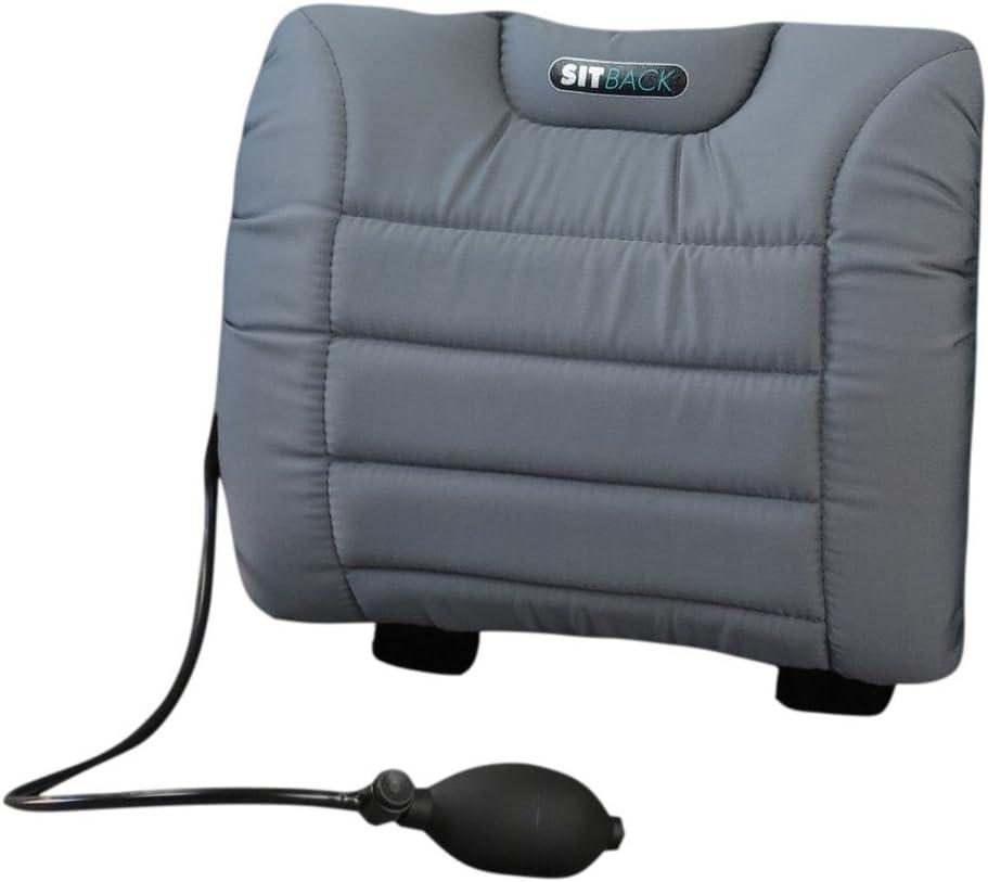 Set di cuscino lombare gonfiabile ad aria