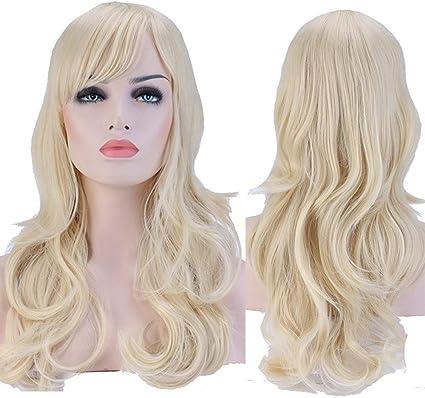 parrucca bionda lunga