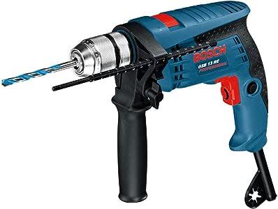 Bosch Professional GSB 13 RE - Taladro percutor (600 W, 0 – 2800 rpm, Ø max perforación hormigón 13 mm, en caja): Amazon.es: Bricolaje y herramientas