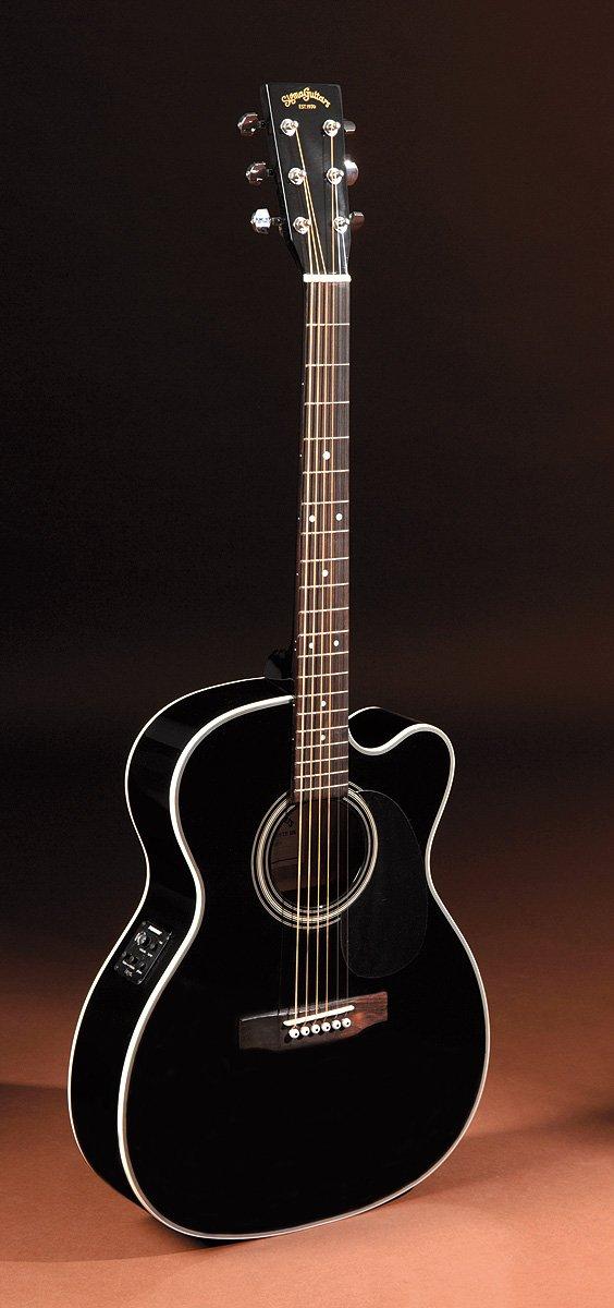 Guitarra Electroacústica Sigma 000 mc-1ste-bk with Pickup, EQ and ...
