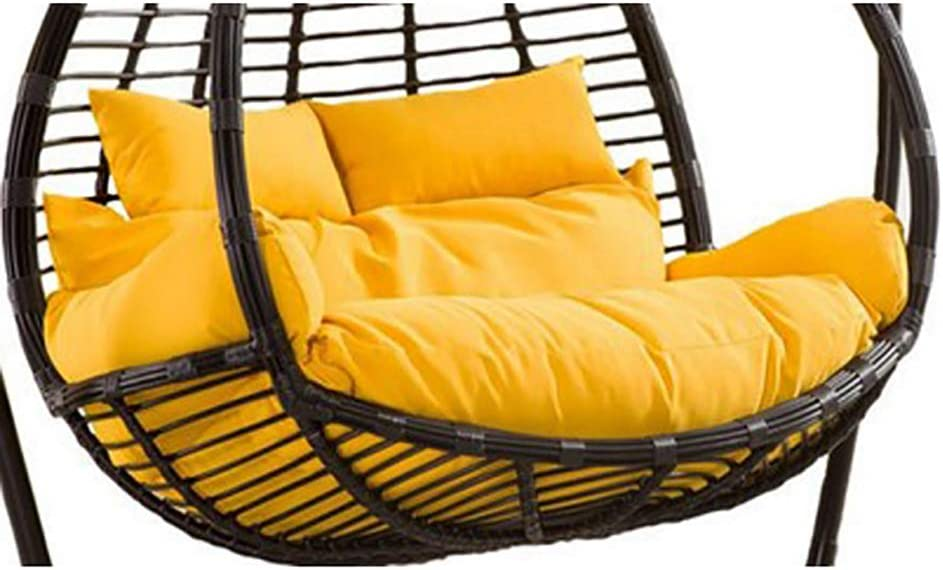 Thick Hanging Hammock Nest Egg Swing Chair Cushion,seat Cushioning Pad For Indoor Outdoor Patio Backyard Double Zipper No Chair-a 110x150cm 43x59inch