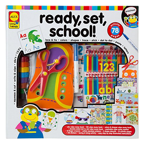 Amazon.com: ALEX Toys Little Hands Ready Set School: Toys & Games