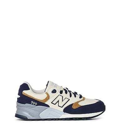New Balance Sneakers Uomo NBML999NAD12 Camoscio Beige  Amazon.it  Scarpe e  borse 539f8ea049f