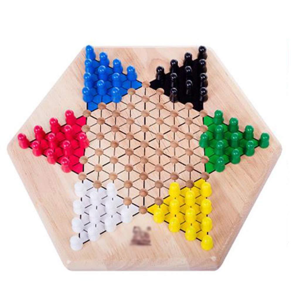 QXMEI Kinderspielzeug Eltern-Kind-Brettspiele Aus Holz Lernspielzeug über 3 Jahre Alt