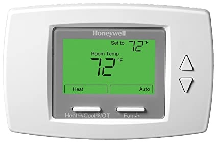Fan Coil Thermostat, Low Voltage, White
