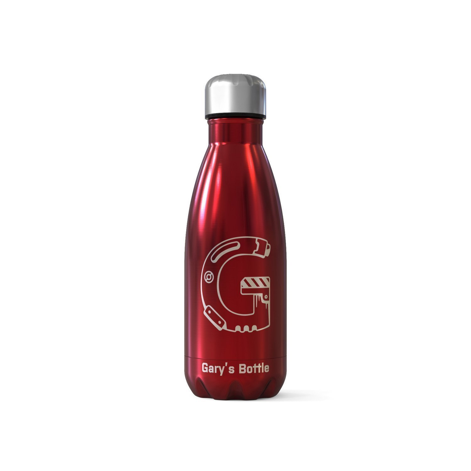 Personalised Bottle Flask - Techno G