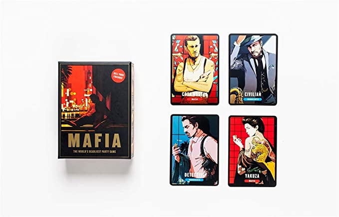 Mafia:The Worlds Deadliest Party Game: Vv.Aa, Vv.Aa: Amazon.es: Juguetes y juegos