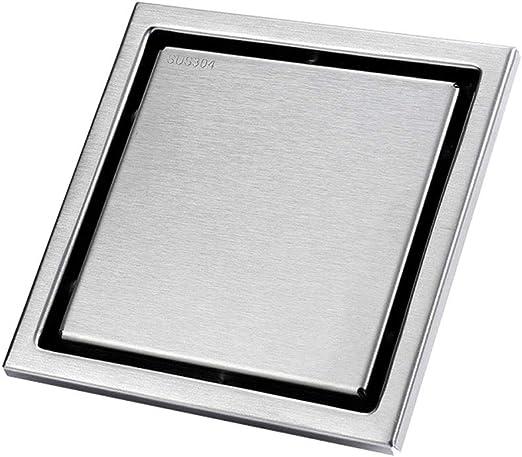Floor Drain Square Bathroom Wet room Shower Drain Removable Strainer Cover