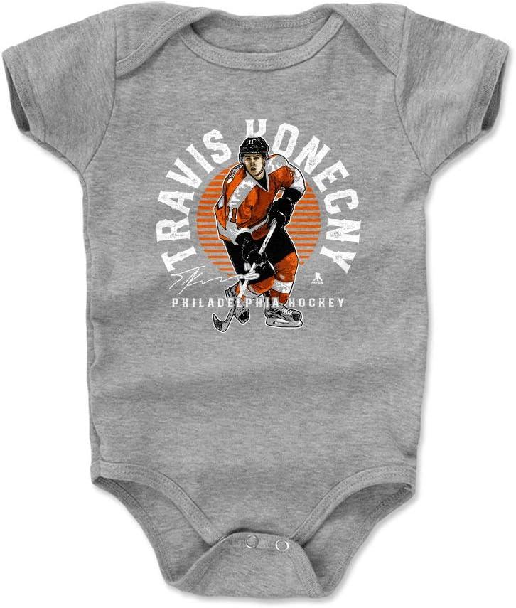 3-24 Months 500 LEVEL Travis Konecny Philadelphia Hockey Baby Clothes /& Onesie Travis Konecny Emblem