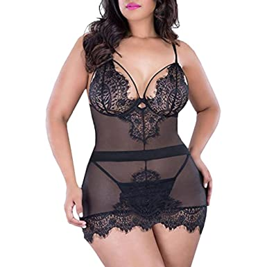 ba0c92ee1 Amazon.com  Hot Sale! Sexy Lingerie Set