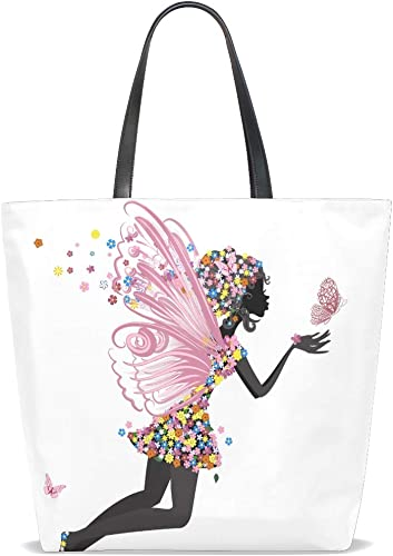 Flower Fairy Angel Butterfly Round Leather Shoulder Bag Fashion Lady Crossbody Wallet Adjustable Top Handbag For Women Girl
