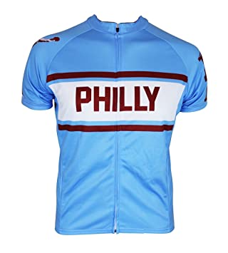 timeless design 7b73e f06a8 Philadelphia (Philly) Retro City Cycling Jersey (X-Large)