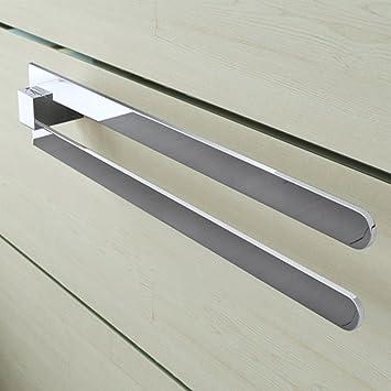 Badzubehör & -textilien Handtuchhalter Bad Aus Aluminium Design Accessoire Badetuchstange