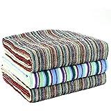 TANGONO [ 色柄おまかせ バスタオル 3枚組 ] 残糸で作ったエコなタオルセット 今治産タオル (60×120cm) 吸水 速乾 日本製