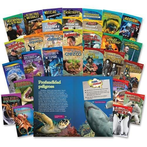 20222 Shell TIME for Kids: Challenging 30-Book Spanish Set Education Printed Book - Spanish - Book by Shell