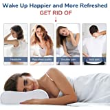 Sampri Memory Foam Pillow Standard Size Neck & Back Support Pillow for Sleeping