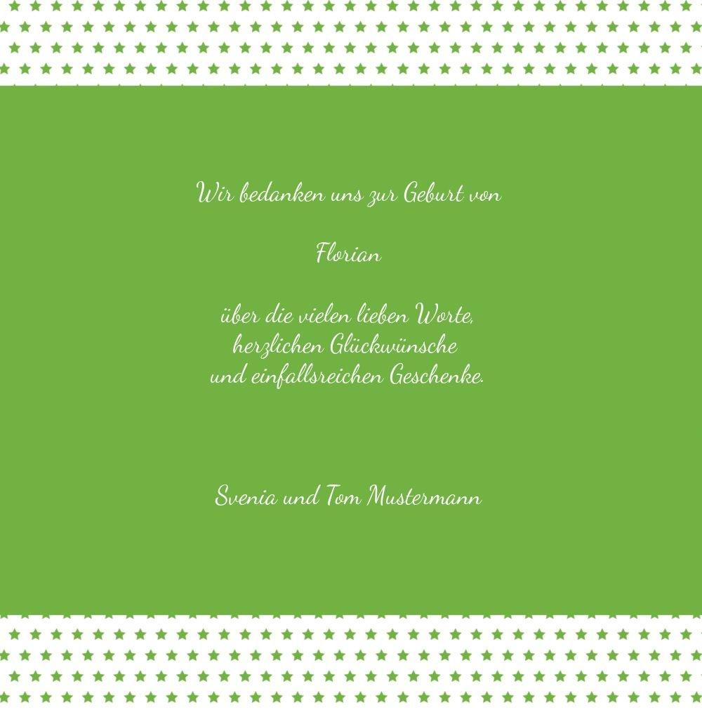 Kartenparadies Danksagung Danksagung Danksagung für Geburt Baby Dankeskarte Sternchen, hochwertige Danksagungskarte Baby inklusive Umschläge   100 Karten - (Format  145x145 mm) Farbe  braunmatsch B01MTEZUF4 | Die Königin Der Qualität  | Adoptieren  | New Style  ea9a56
