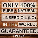 Linseed Oil Pure - 1 Litre Pack by PLAZA