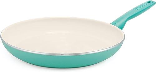 GreenPan Rio Healthy Ceramic Nonstick Turquoise Frying Pan