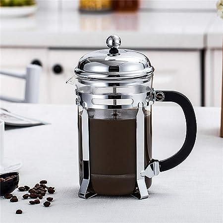 HEYU-Moka Cafetera Francesa a presión, cafetera Lavada a Mano ...