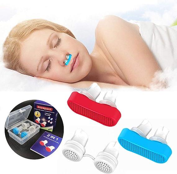 Geagodelia Anti Snore Dilatador Nasal Anti Ronquidos Nariz Clip ...