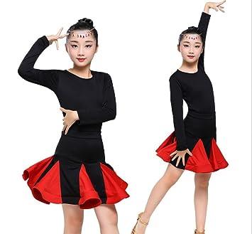 Falda de Baile Latino para niños Disfraces para niños Falda de ...