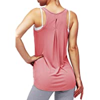 Mippo Women's Workout Tops Gym Yoga Tops Activewear Muscle Tank Workout Shirts