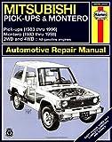 Mitsubishi Pickups and Montero, 1983-1996, Larry Warren and John Haynes, 1563921928