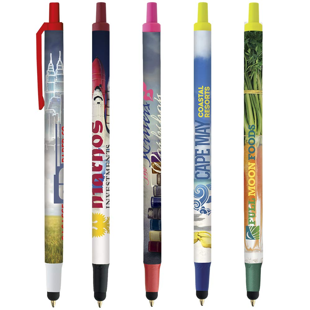 BIC BIC Digital Clic Stic Stylus Pen Fashion Pink 500 Pack