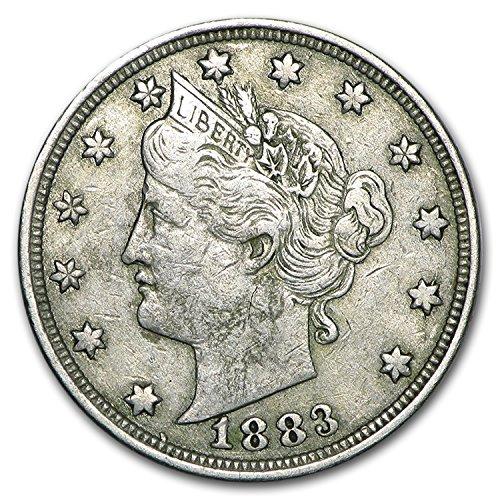 1883 Liberty Head V Nickel No Cents VF Nickel Very Fine