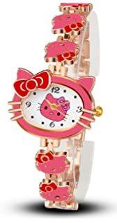 Private Label Hello Kitty Watch for Girls (Rose Pink)