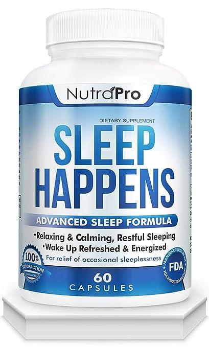 Amazon.com: Ayuda natural para dormir para adultos. Píldoras ...