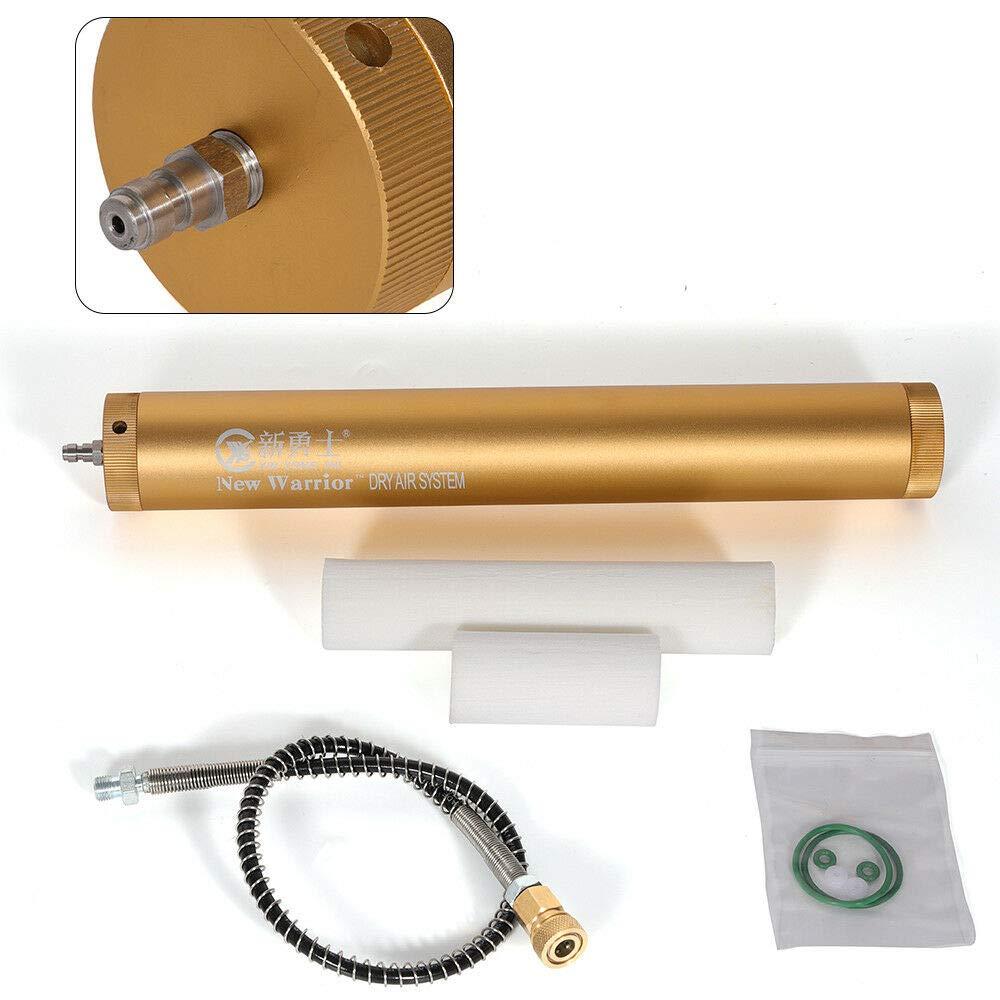 Oil Water Separator, KPfaster PCP Aluminum Air Compressor Oil-Water Separators & High Pressure Hose Pro 30 Mpa by KPfaster