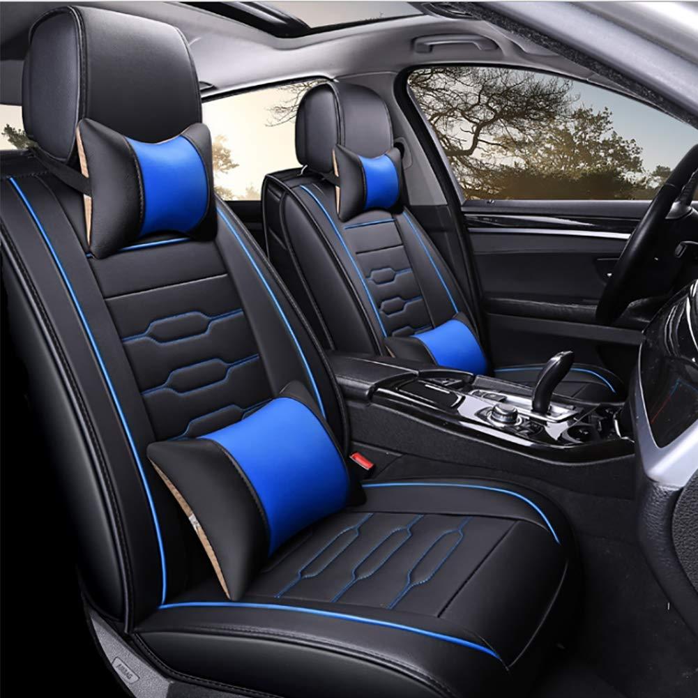 Amazon.com : ZHENHUA Fully Enclosed Seat Cover Car Seat Four ...