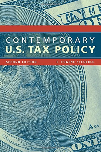 Contemporary U.S. Tax Policy (Urban Institute Press)