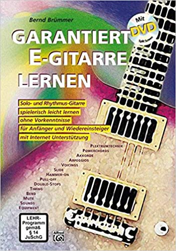 Workbook + DVD Spielend E-Gitarre Lernen