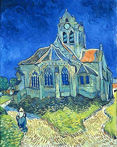Oil Painting 'Vincent Van Gogh-The Church At Auvers,1890', 24 x 30 inch / 61 x 77 cm , on High Definition HD canvas prints is for Gifts And Dining Room, - Bauhaus Sunglasses Smith