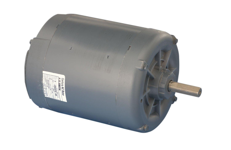2.0-1.9//.95 Amps 1140 RPM 56 Frame A.O 1140 volts Smith OKR1096 1//2 HP Ball Bearing Condenser Motor Century Electric//AO Smith Motors Co