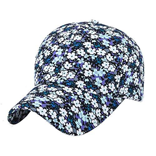 Womens Sports Running Golf Travel Baesball Sun Flower Floral Cap Hat Caps Hats