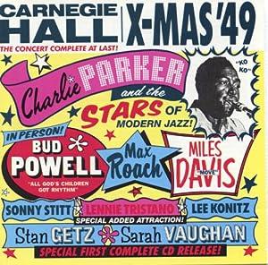 Charlie Parker, Stars of Modern Jazz - Carnegie Hall: X