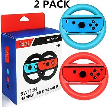 2 * volantes para Nintendo Switch Grips de mango de rueda para ...