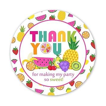 Kreatwow Fruto Gracias Etiquetas Adhesivas Tutti Frutti ...
