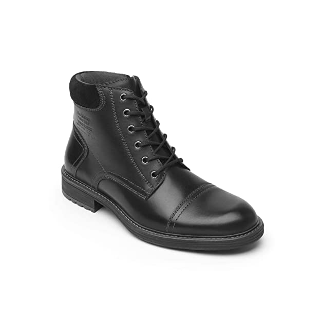 Flexi Cavani Men's Genuine Waxi Leather Rugged Motorcycle Lace Up Hiking Combat Boot | 95001 by Flexi