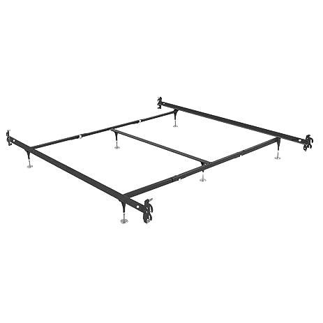 Bed Frame Rails Full Size Sleigh Bed Frame Leather
