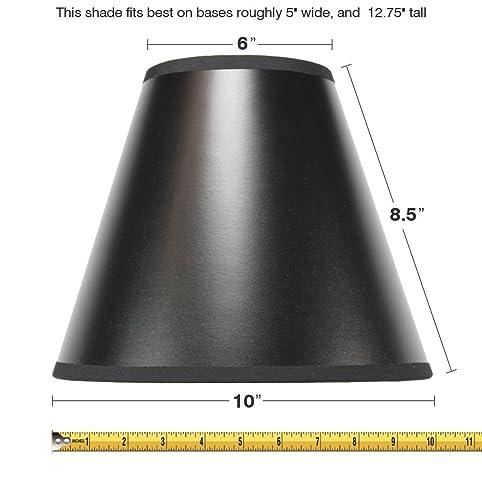 5x10x85 slip uno fitter black parchment empire lampshade by home 5x10x85 slip uno fitter black parchment empire lampshade by home concept includes conversion aloadofball Choice Image