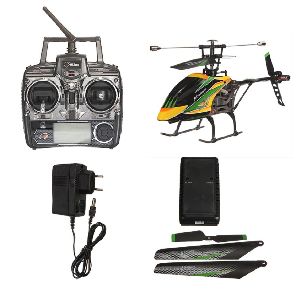 WL V912 Helicopter Review -Single Blade RC Helicopter 5