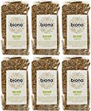 (6 PACK) - Biona - Org Hemp Seed | 250g | 6 PACK BUNDLE