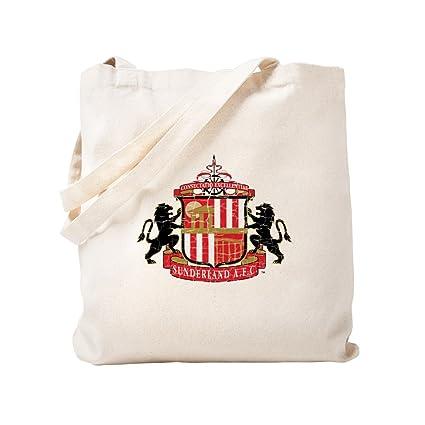 4e1ab36438 Amazon.com  CafePress - Vintage Sunderland AFC Crest - Natural ...